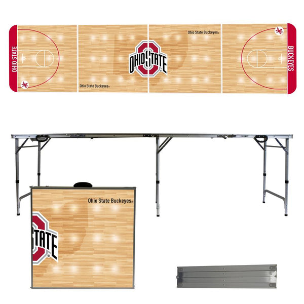 Ohio State University 2' x 8' Tailgate Pong Table