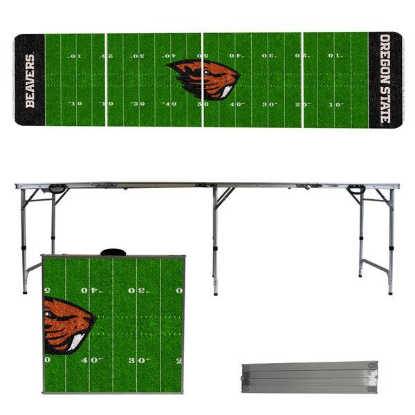 Oregon State 2' x 8' Tailgate Pong Table
