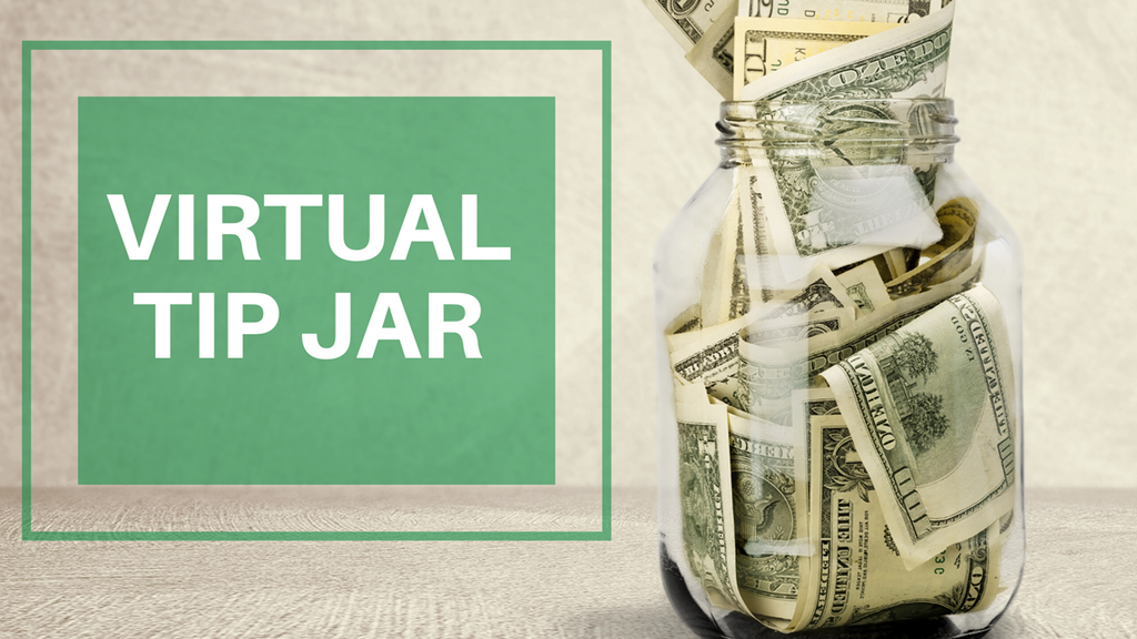 Virtual Tip Jar
