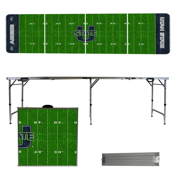 Utah State University 2' x 8' Tailgate Pong Table