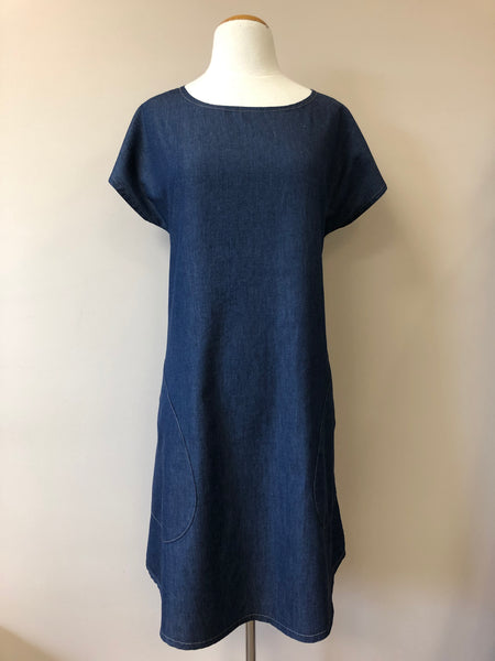 Maria Dress {DENIM}