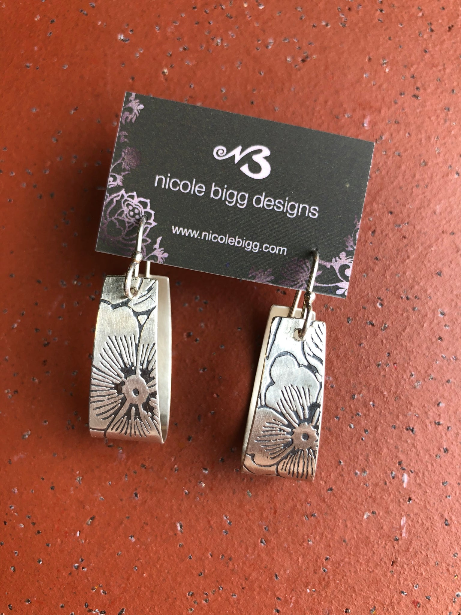 Nicole Bigg {KALA EARRINGS SILVER}