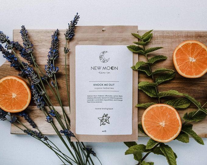 New Moon Tea Co. {HERBAL TEAS}