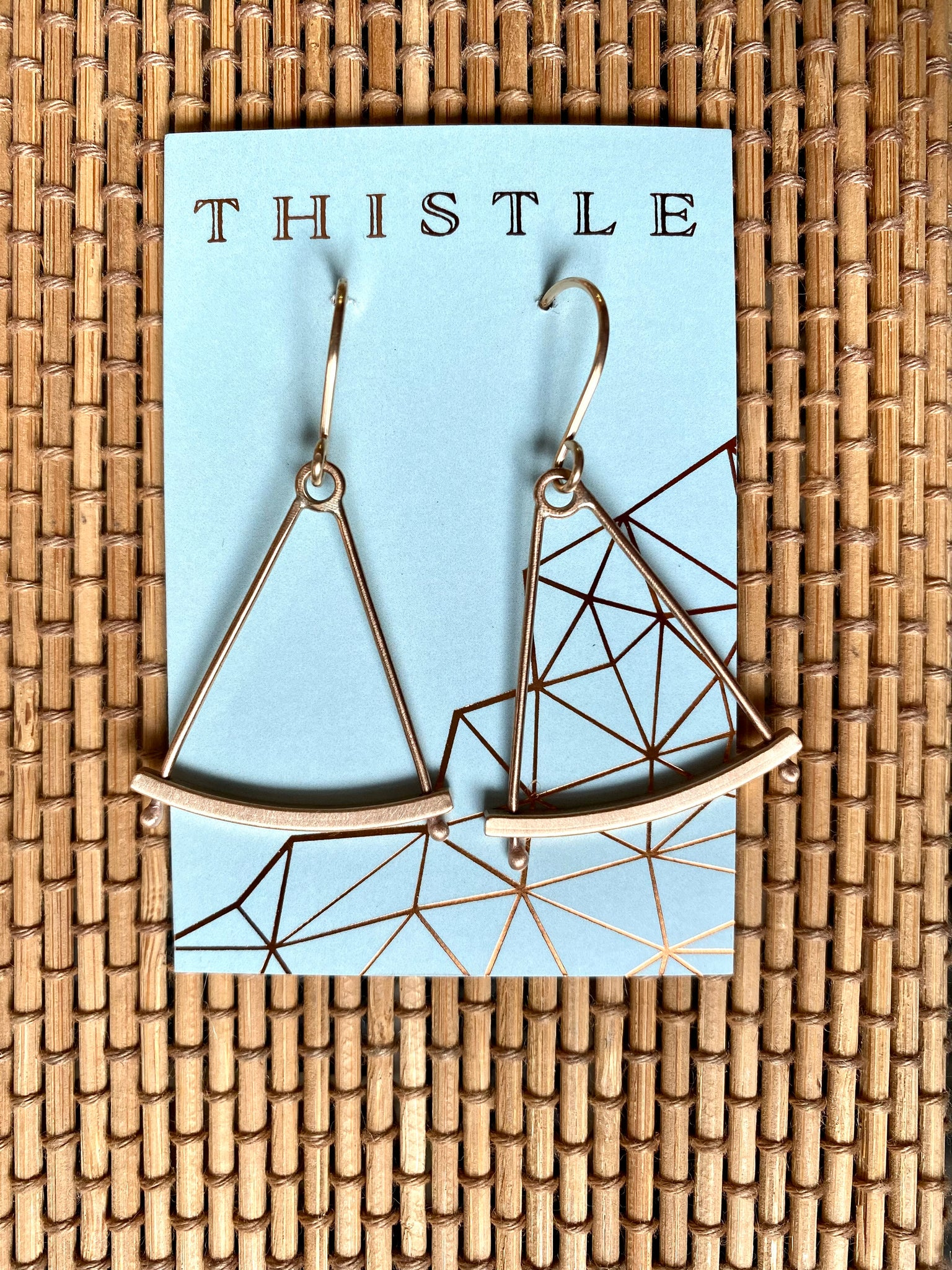 Thistle {SEXTANT EARRINGS}