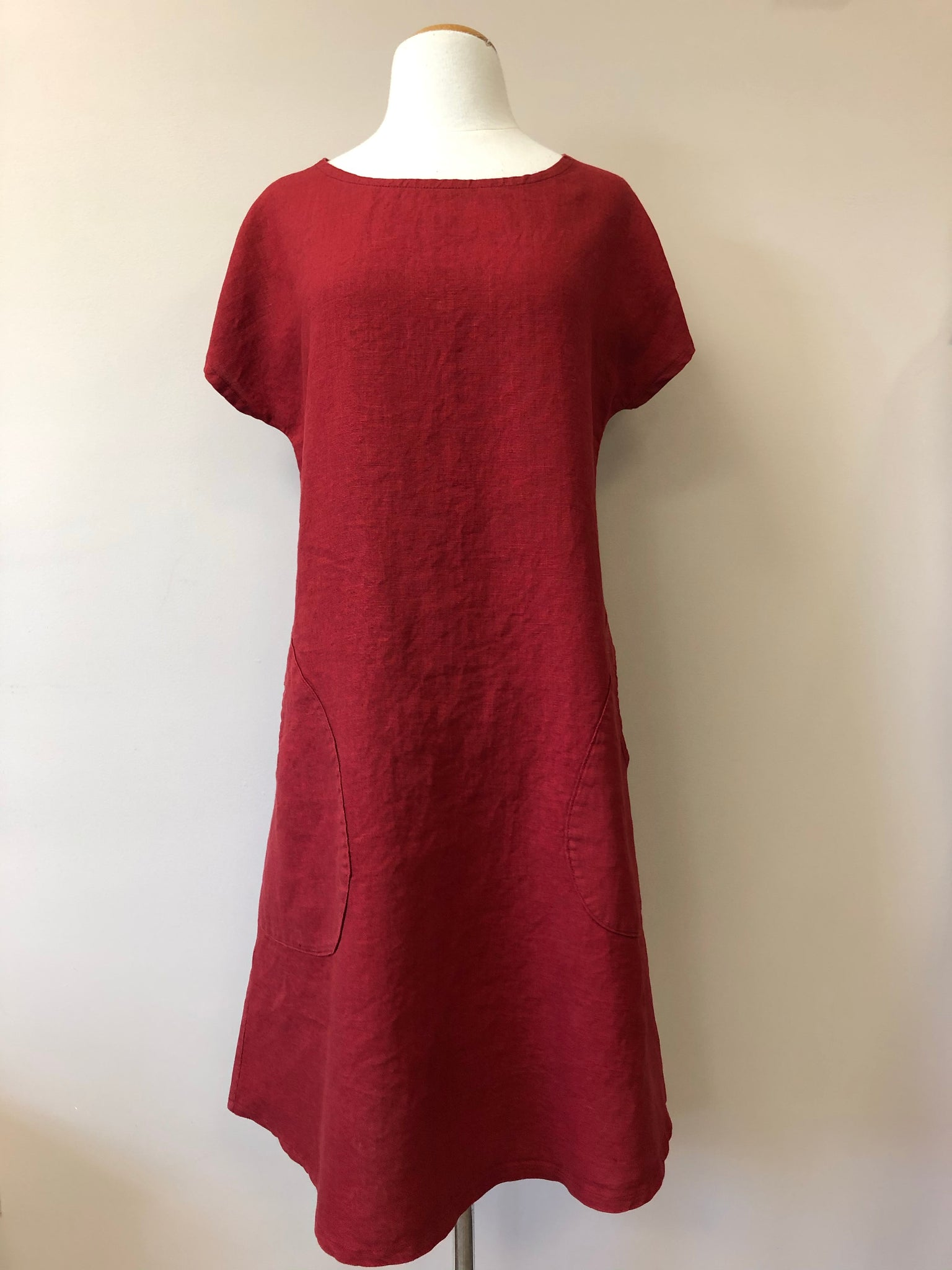 Maria Dress w/Keyhole {LINEN}