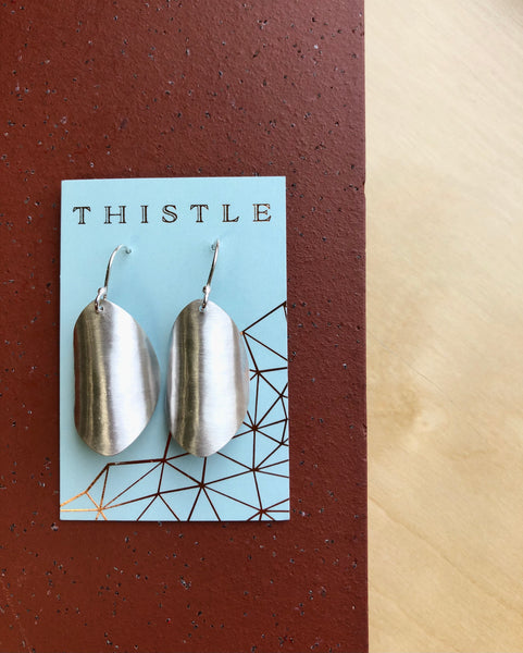 Thistle {SILVER EARRINGS}
