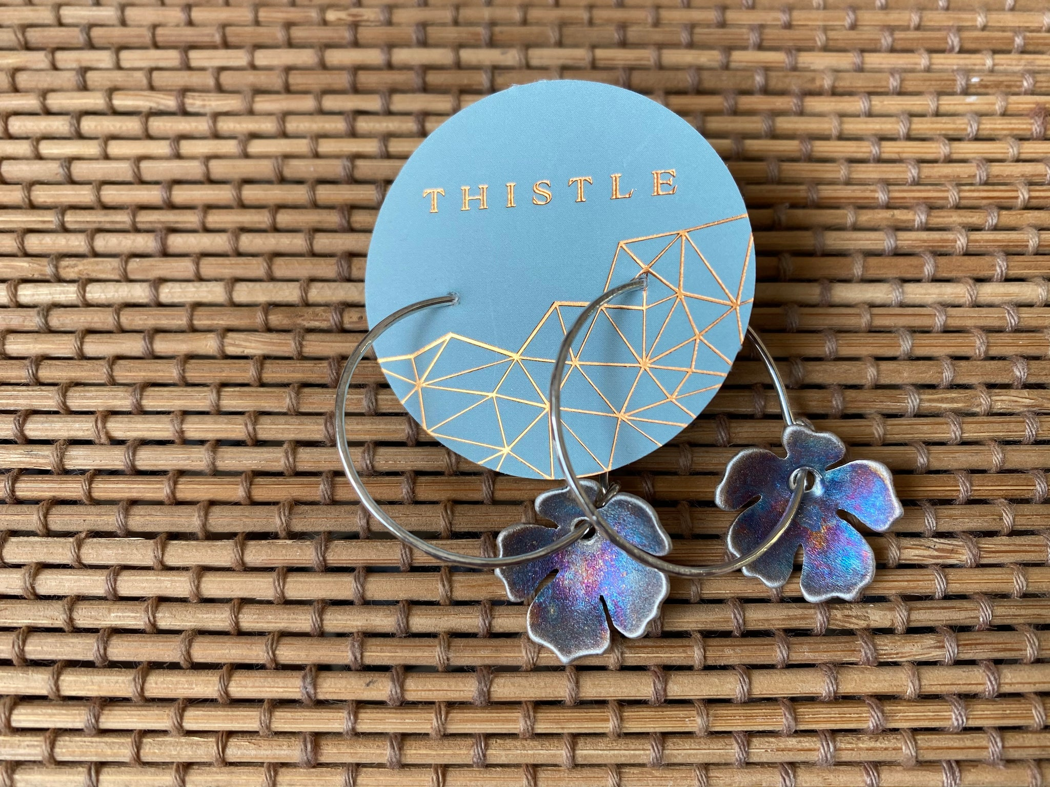 Thistle {HIBISCUS HOOPS}