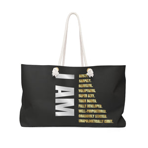 I AM Weekender Bag