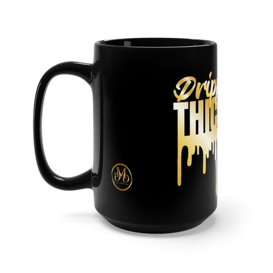 Gold Dripping In Thickness Mug