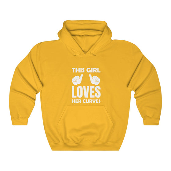 Curvy Love Hooded Sweatshirt