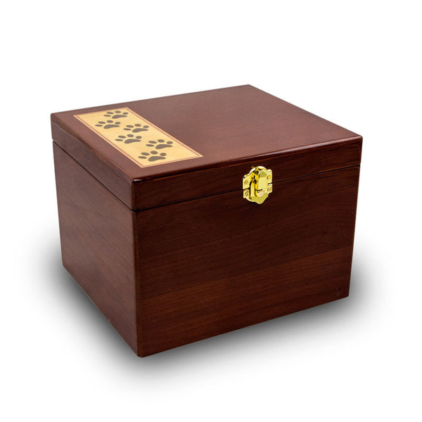 Small Pet Keepsake Chest Closed