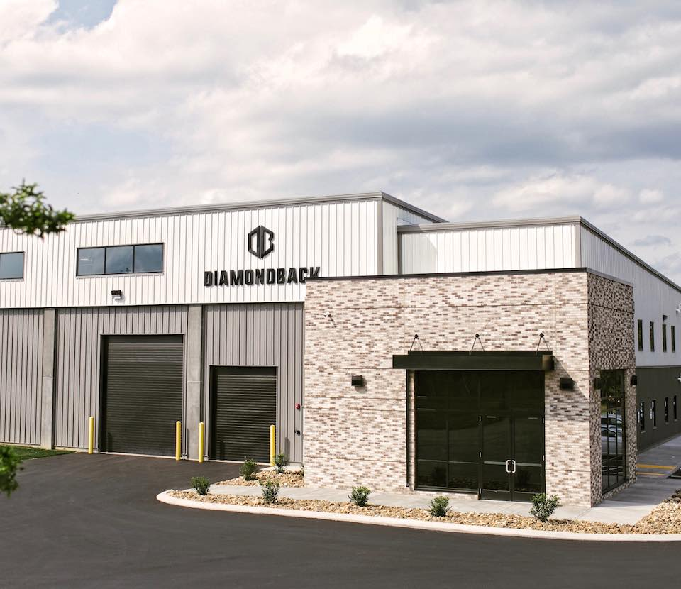 DiamondBack Truck Covers' headquarters in Philipsburg