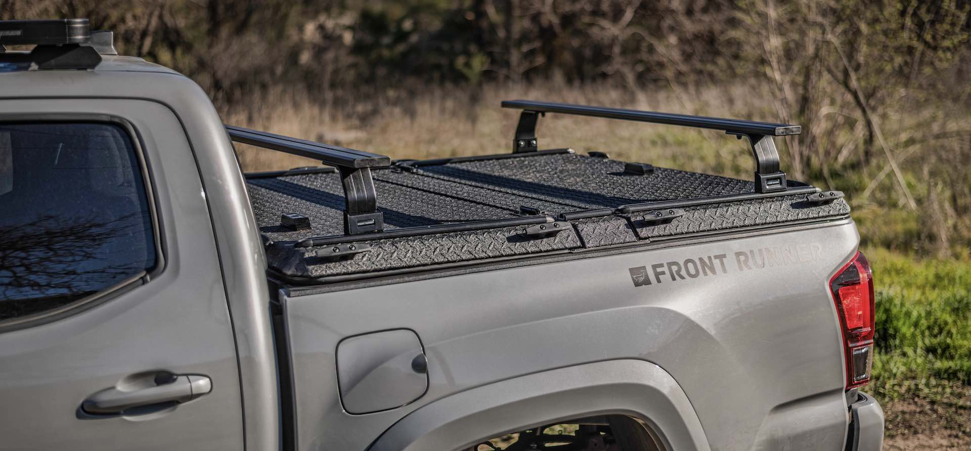 Front Runner DiamondBack Rack System on Toyota Tacoma