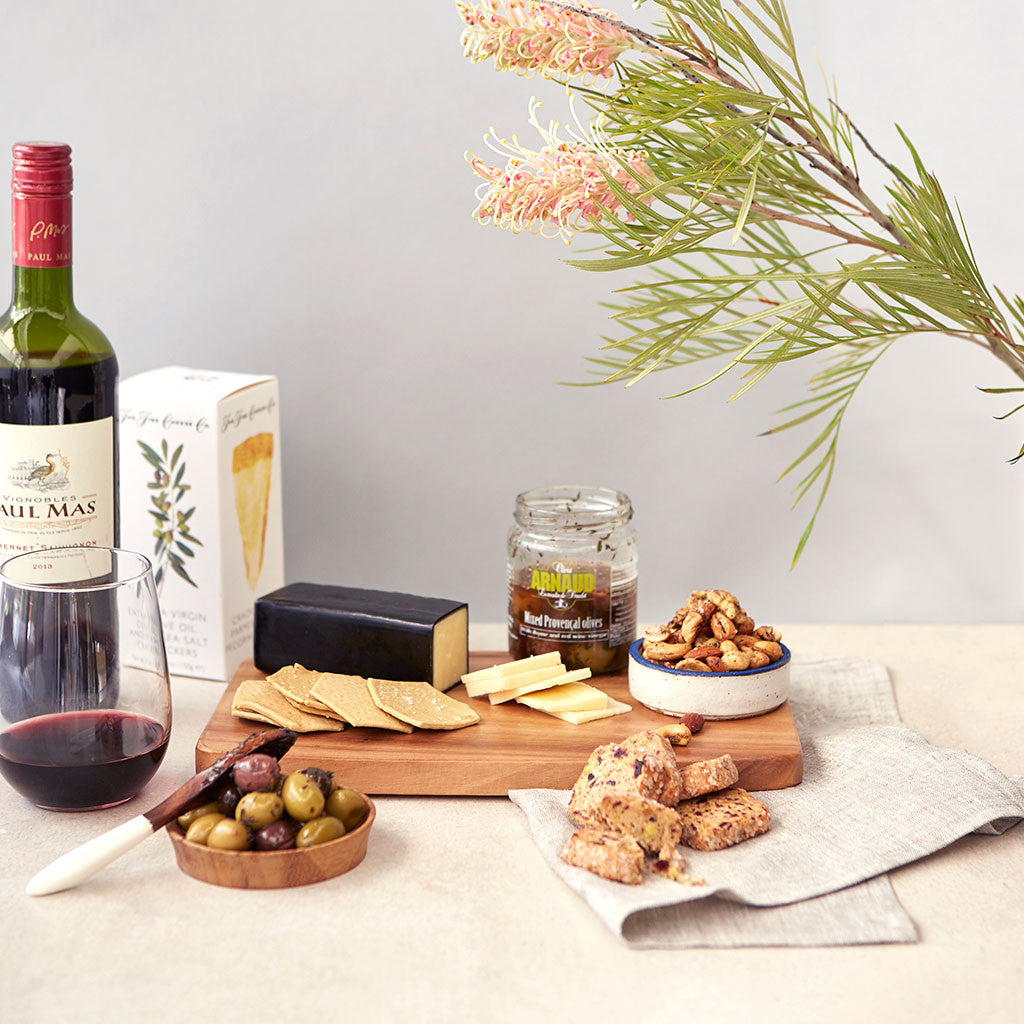 Wine & Cheese Crate — Small