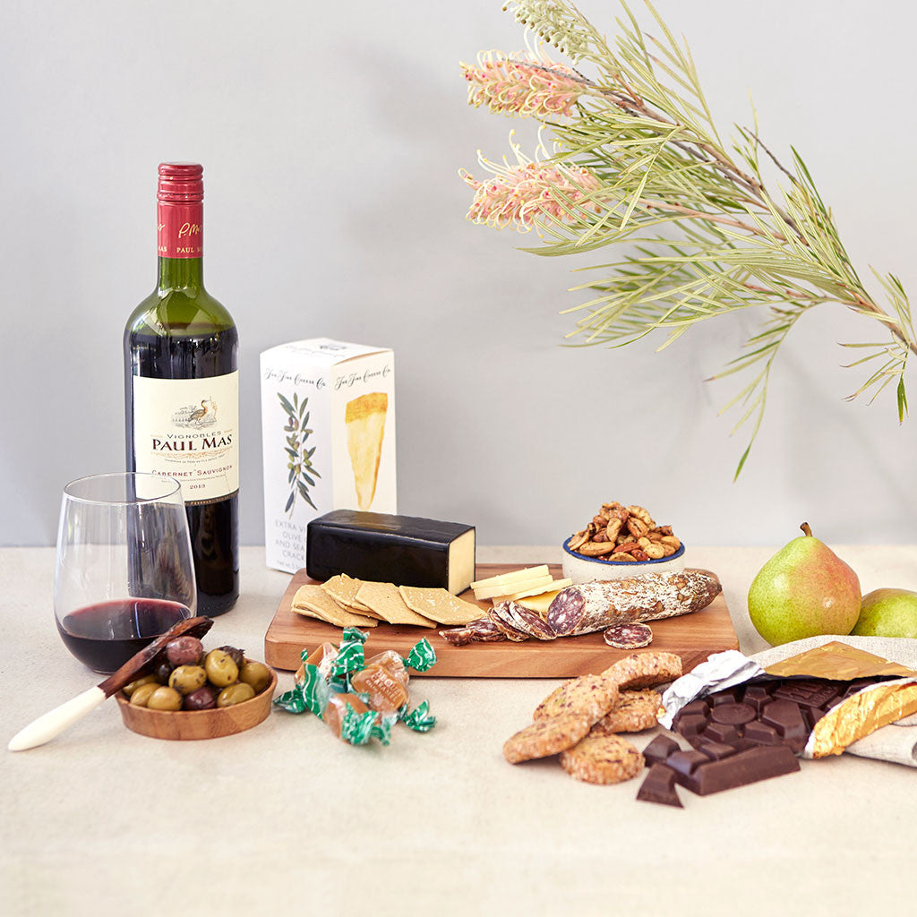 Wine & Cheese Crate — Large