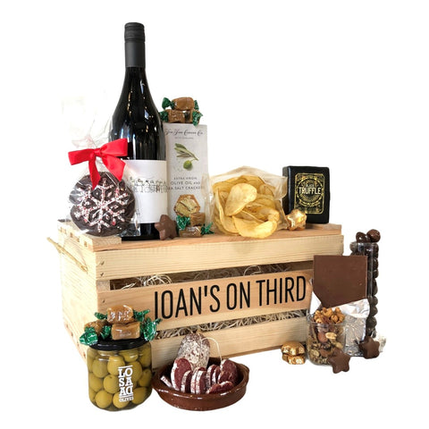 Wine and Cheese Crate