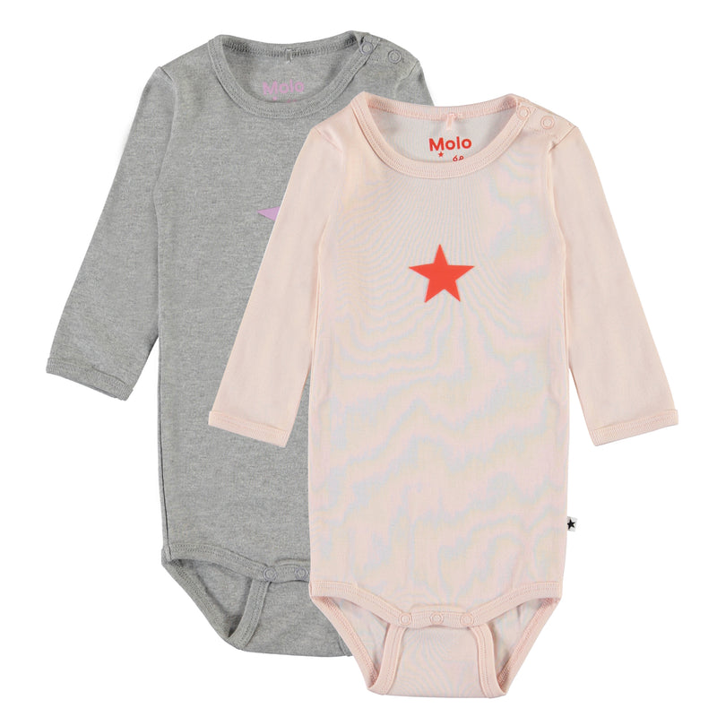 MOLO Foss 2 Pack Baby Bodysuit