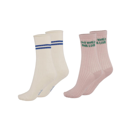 MOLO Nomi petal Blush Socks