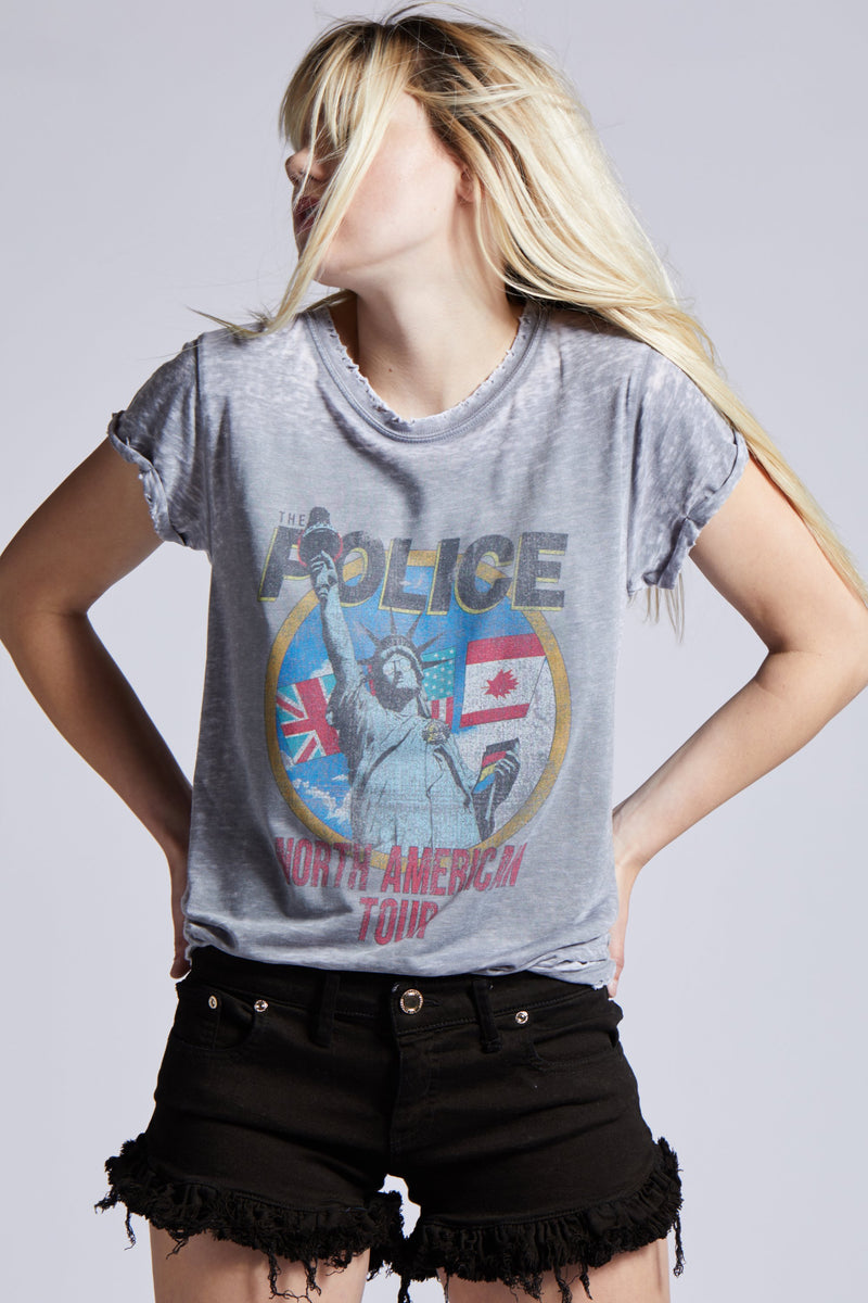 RECYCLED KARMA The Police: North American Tour Women T-Shirt