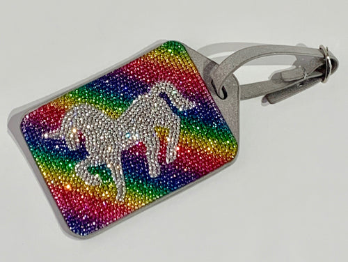 BARI LYNN Crystallized Luggage Tags
