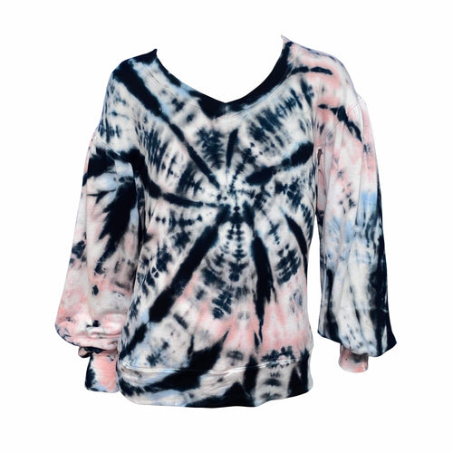 ERGE DESIGNS Winterstorm LS Tie Dye Top