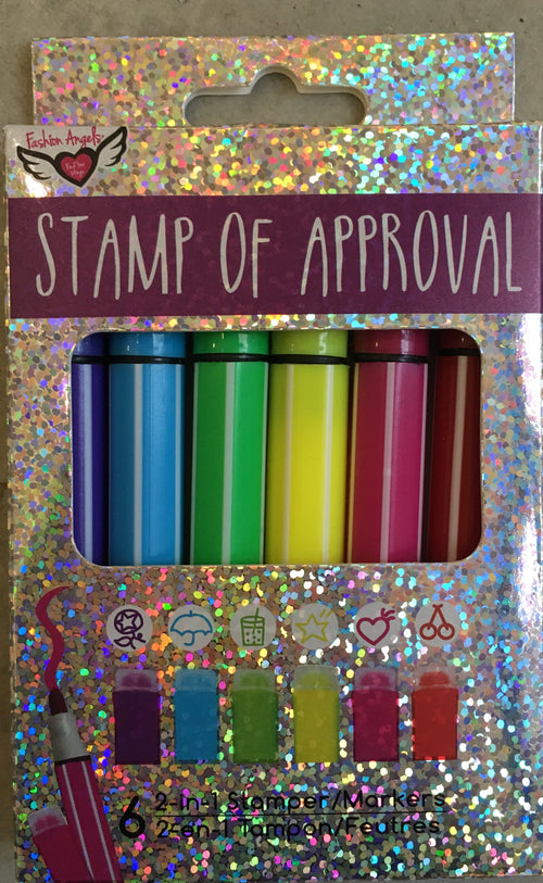 FAHION ANGELS Stamp of Approval Stamping Markers