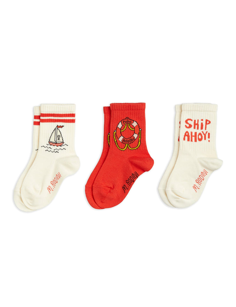 MINI RODINI 3 Pack Socks