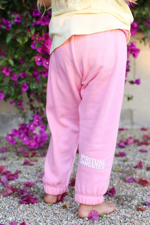 SPIRITUAL GANGSTER Sweatpants Cotton Candy