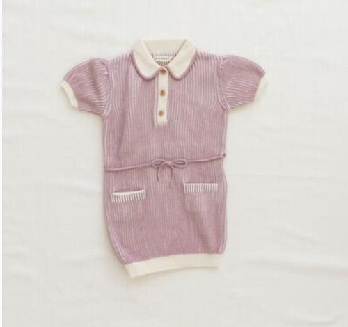 FIN&VINCE Retro Dress Lilac