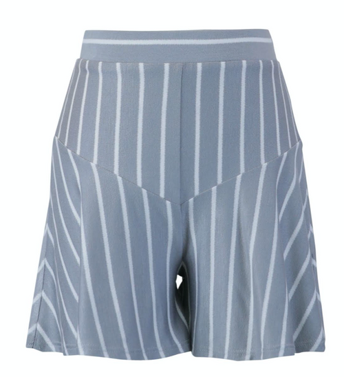FOR ALL SEASONS French Terry Stripe Shorts