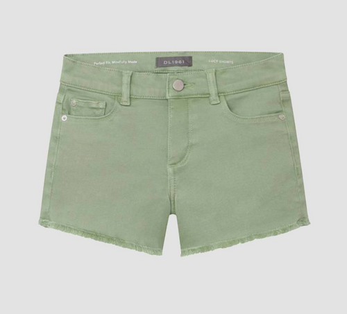DL1961 Lucy Cut off Shorts Pistachio