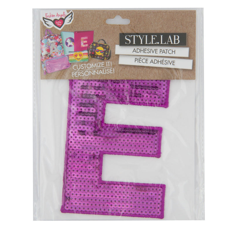 FASHION ANGELS Pink Purple Sequin Letter Patches