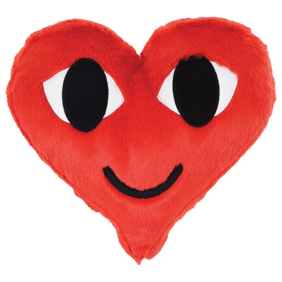 ISCREAM Visco Heart Furry Pillow