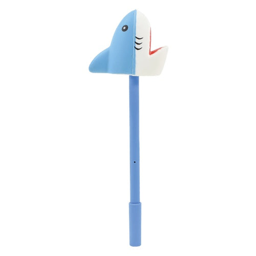 ISCREAM Shark Squishy Cap Off Gel Pen