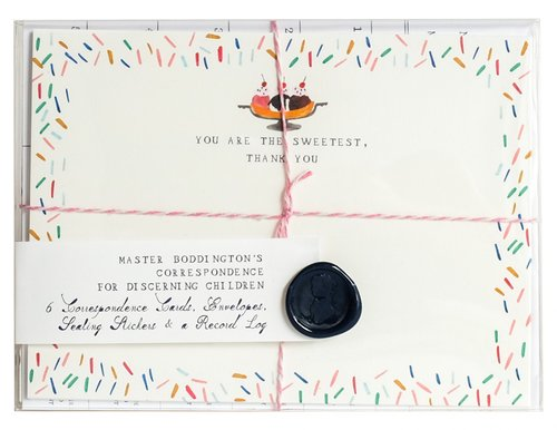 MR. BODDINGTON'S Correspondence Set