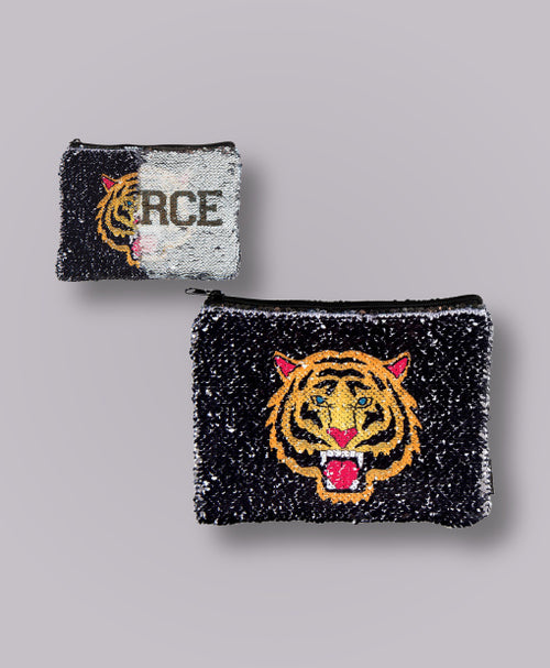FASHION ANGELS Magic Sequin Tiger Pouch