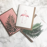 Palm on Pink Gift Card