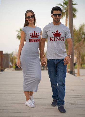 Valentine's Couple King Queen Combo