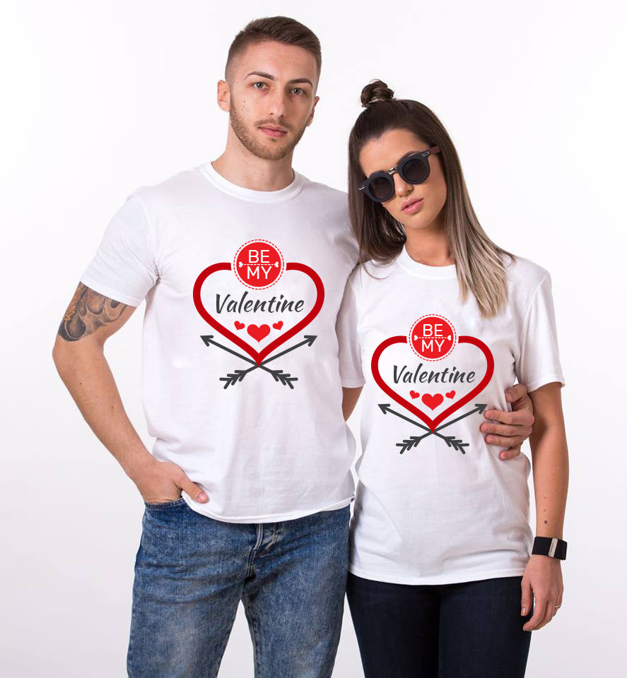 Be My Valentine Couple Tees