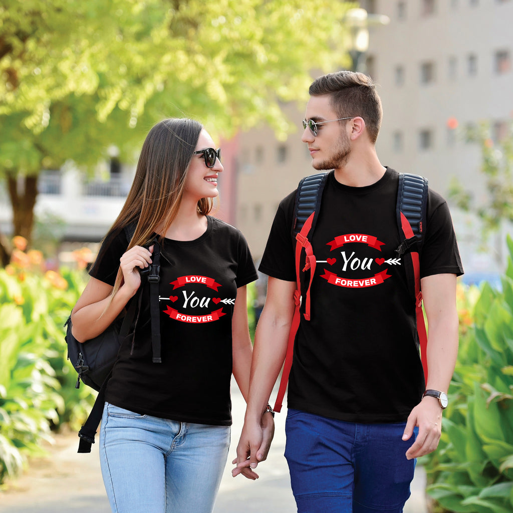 Love You Forever Couple Tees
