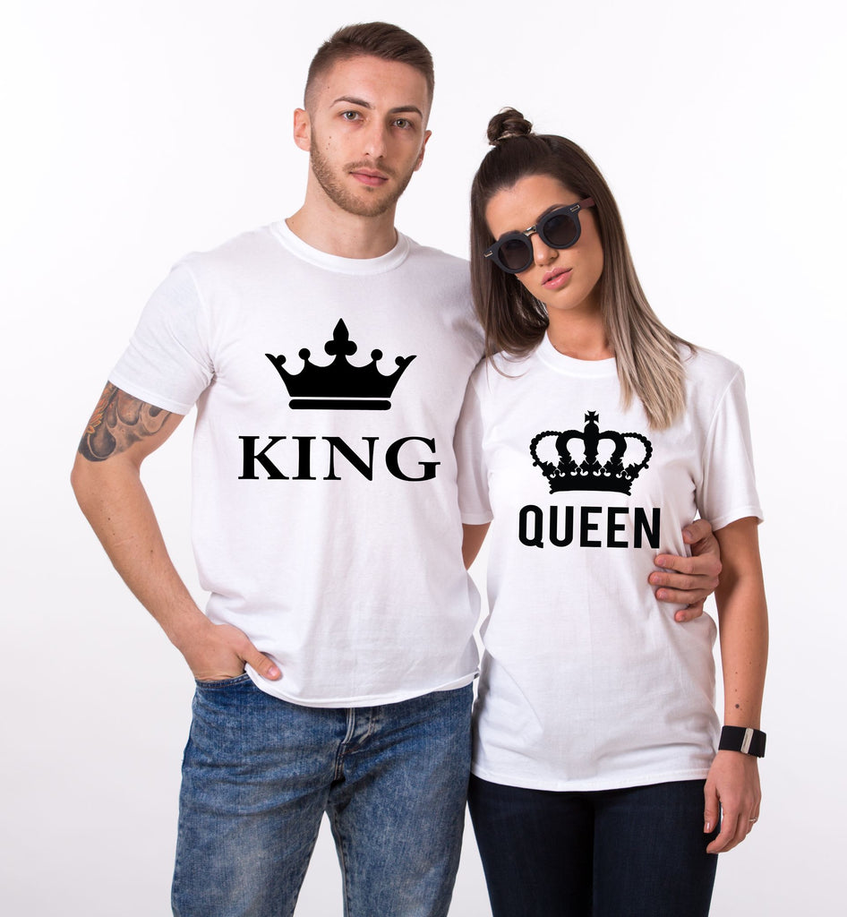King Queen Valentines Tees