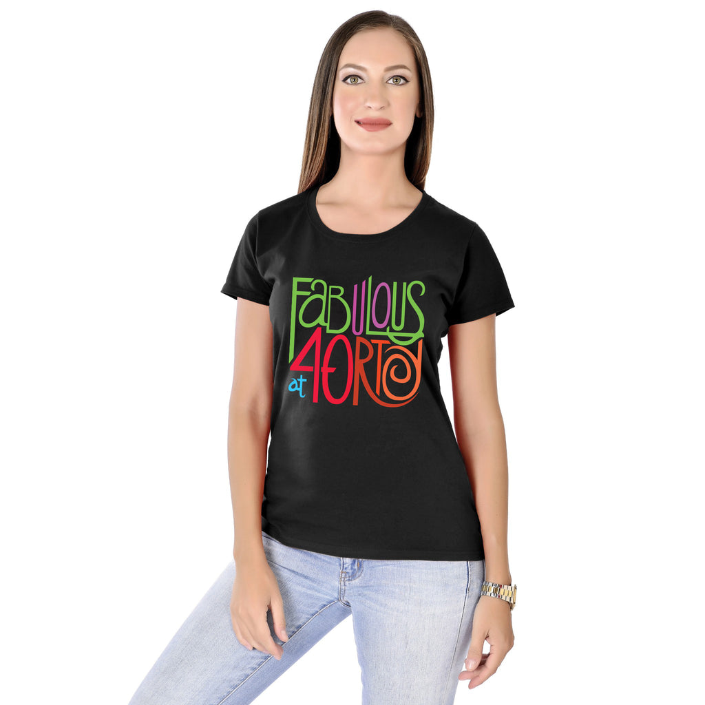 Fabulous at 40 Women Tees