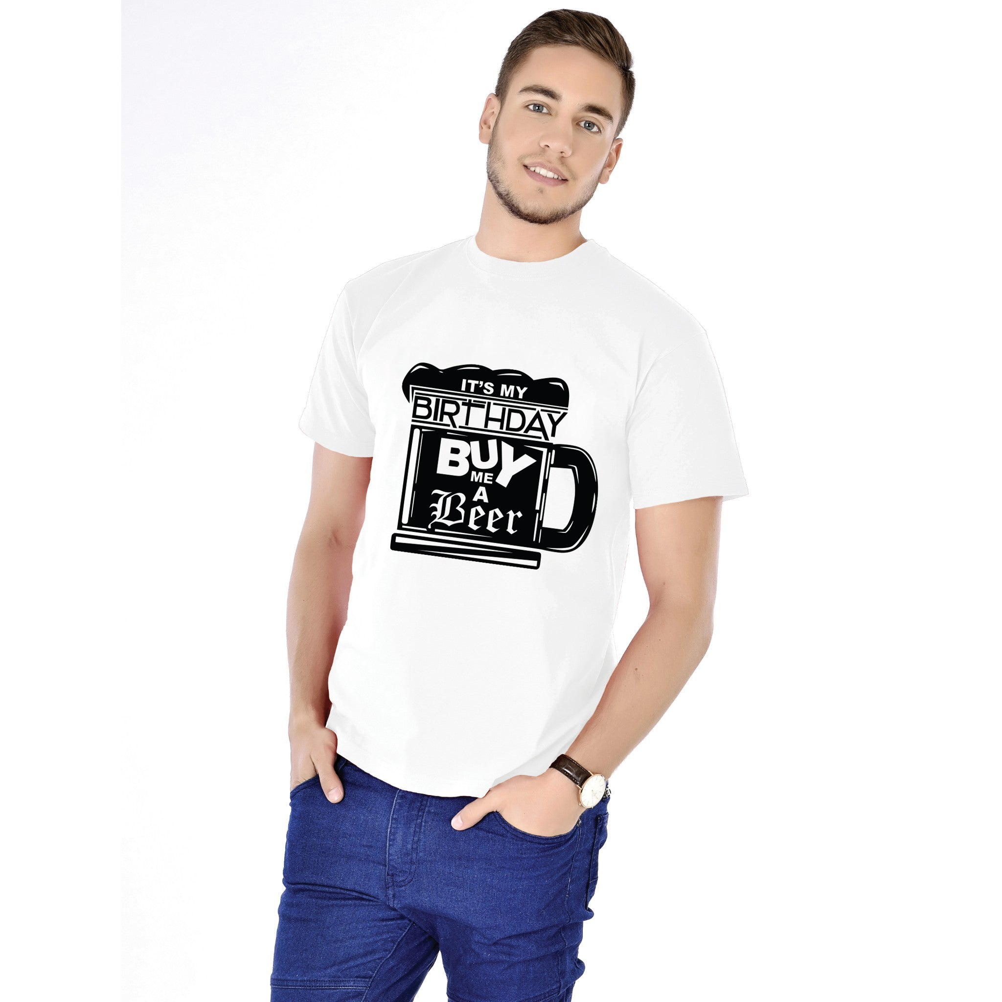 d40fb3678 It's My Birthday Buy Me a Beer Mens Birthday Tees – Conceptland