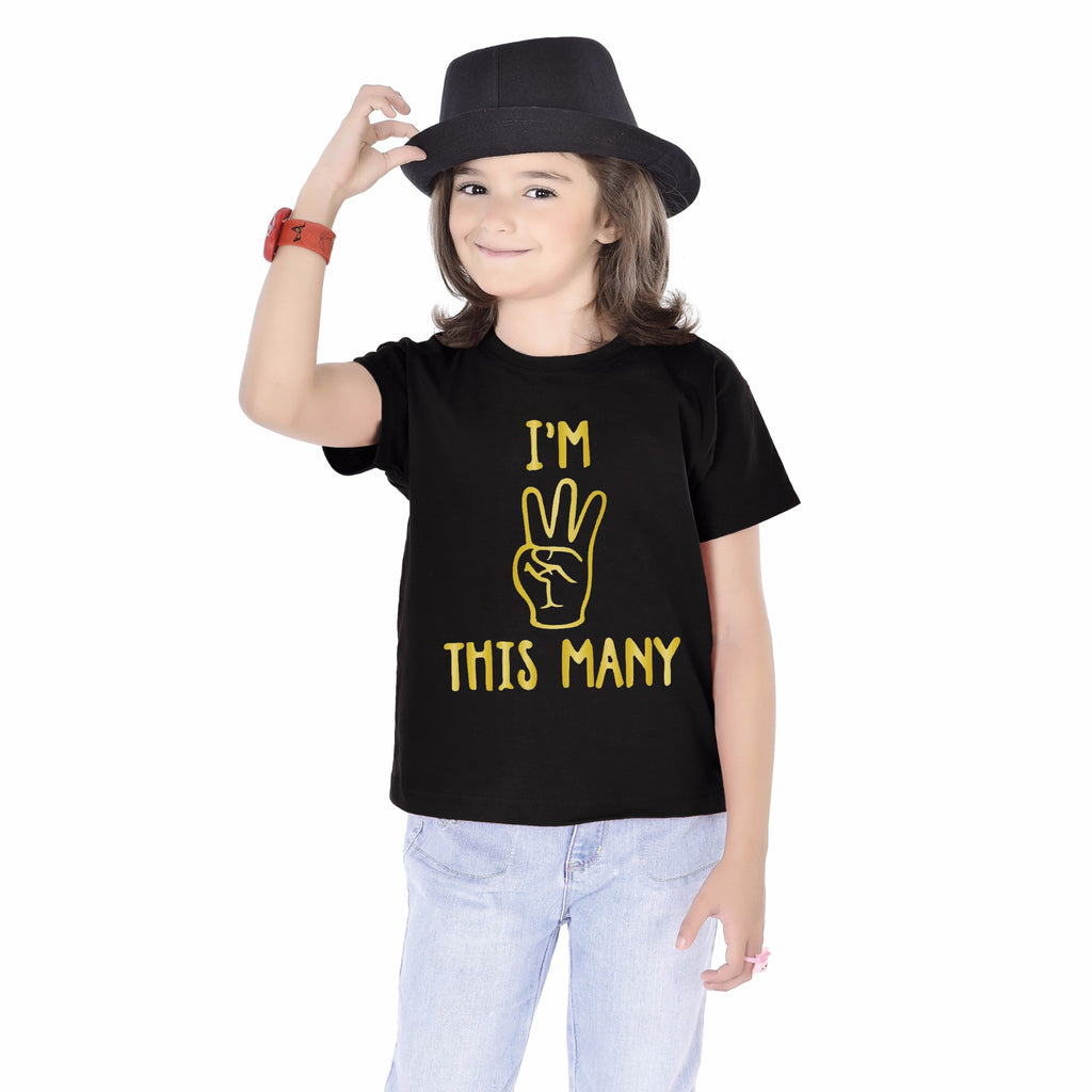 I'm 3  Birthday kids Tees