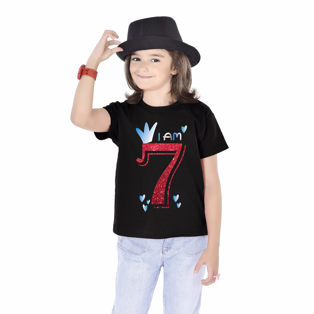 I'm 7 Birthday kids Tees