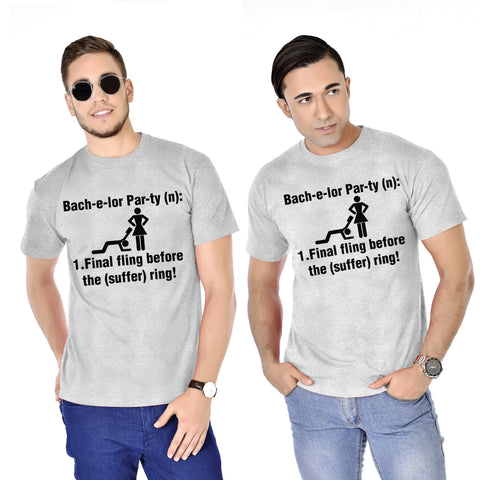 Final Fling Before The Suffering Bachelor Tees