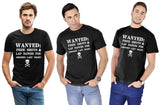 Wanted Free Shots For Groom's Last Night Tees