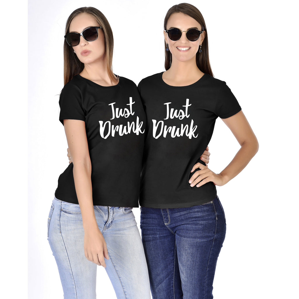 Just Drunk Bachelorette Tees