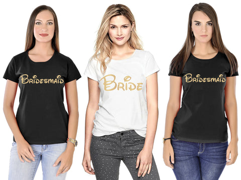 Bride/Bridesmaid  Tees