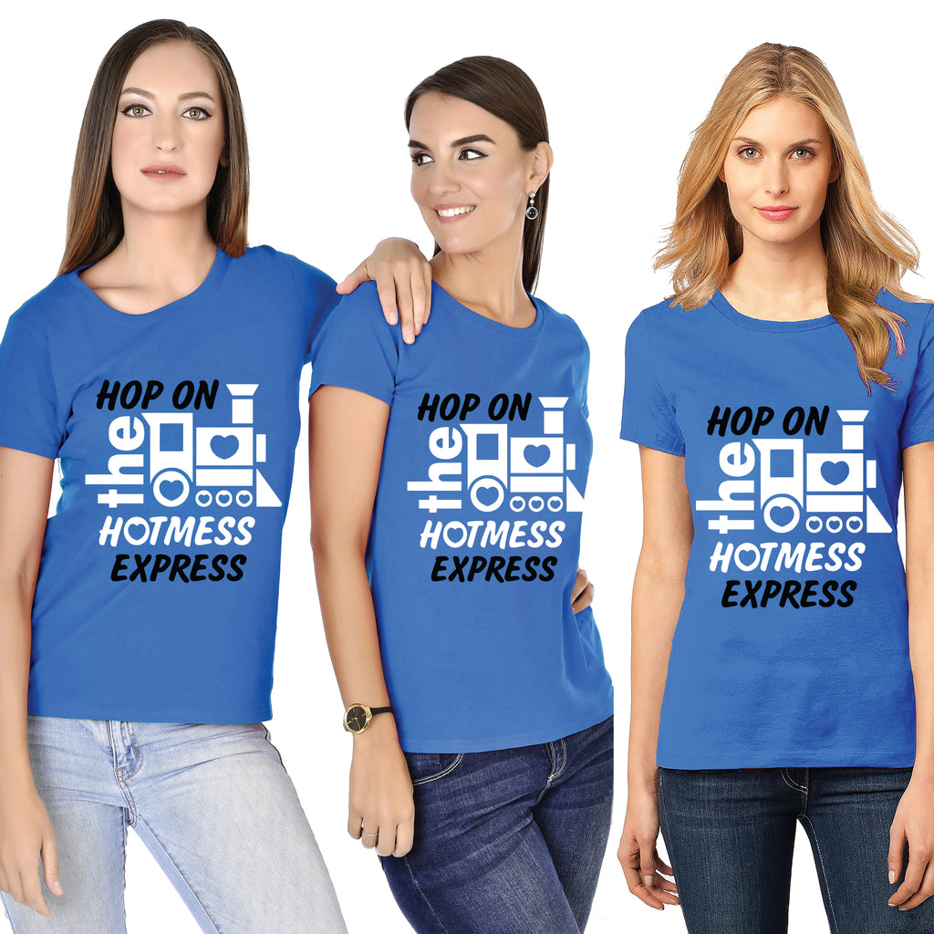 Hop On The Hotmess Express Bachelorette Tees